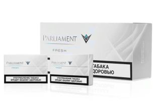 Табачные стики Parliament Blue и Parliament Fresh для IQOS